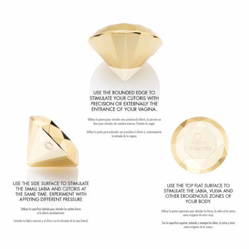 xBIJOUX INDISCRETS® Twenty One, vibromasseur diamant