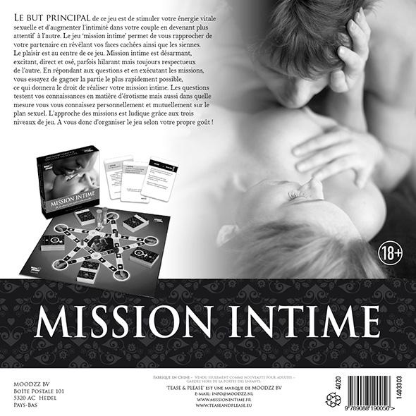 Tease&Please® Mission Intime version classique