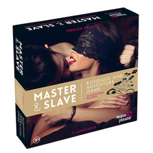 Tease&Please® Master & Slave Premium Kit BDSM Léopard