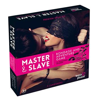 Tease&Please® Master & Slave Premium Kit BDSM Rose