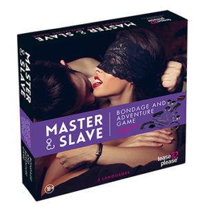 Tease&Please® Master & Slave Premium Kit BDSM Purple